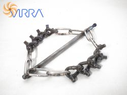 Virra Spiky chain head rotary cleaning